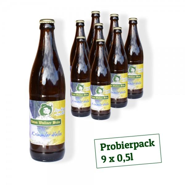 Krimmler Helles 9er ProBIERpack